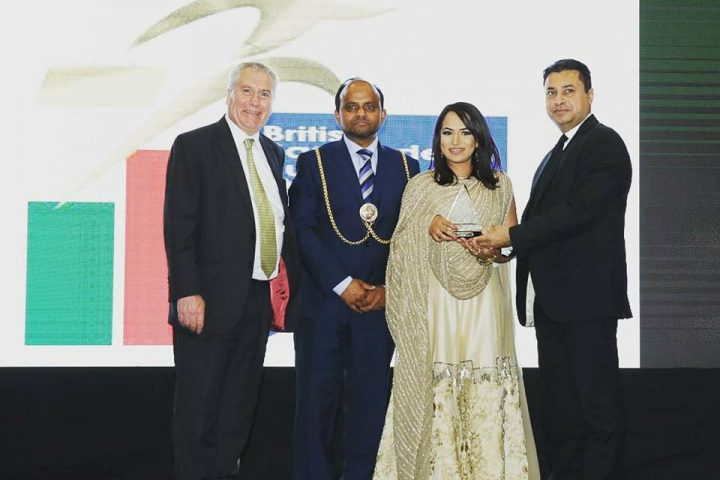 Award for Entrepreneur of the Year at BBBA 2017