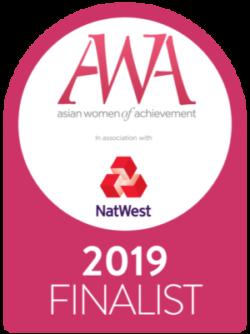 Asian Women of Achievement Awards 2019 – Finalist